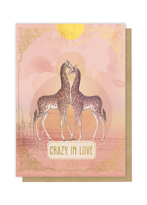 Crazy in Love Greeting Card