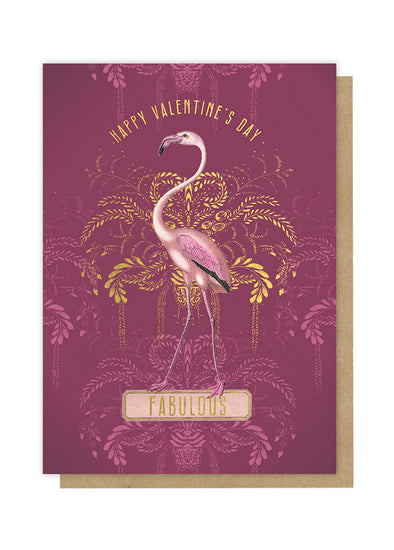 Fabulous Flamingo Greeting Card