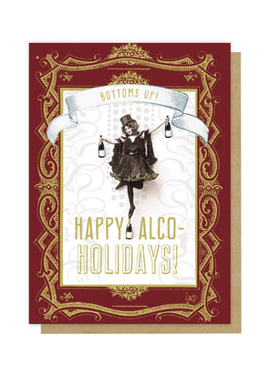 Happy Alco-Holidays Card