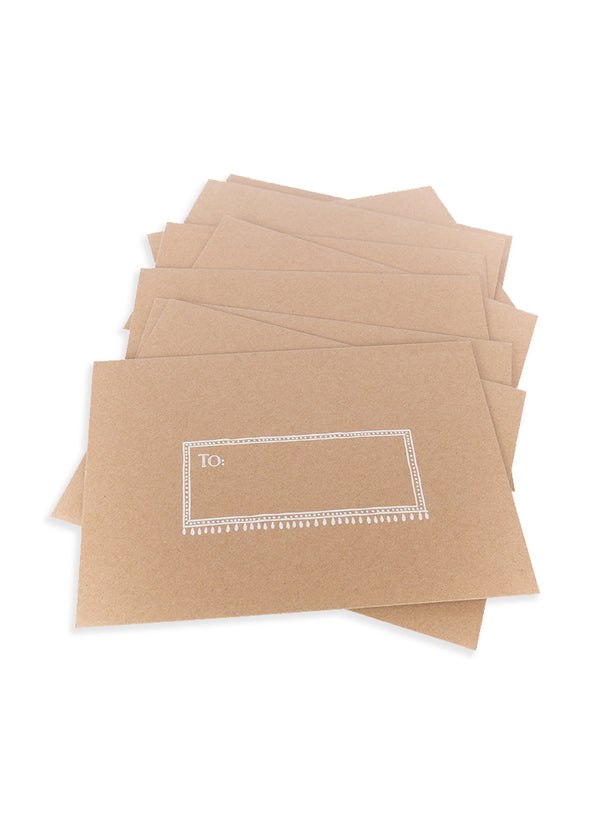 lovely you greeting card envelope