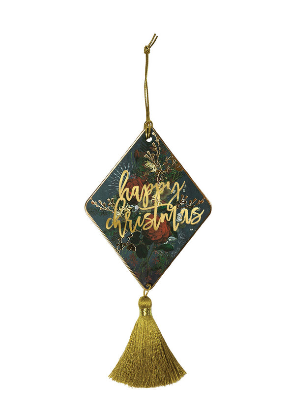 Ornament, Happy Christmas