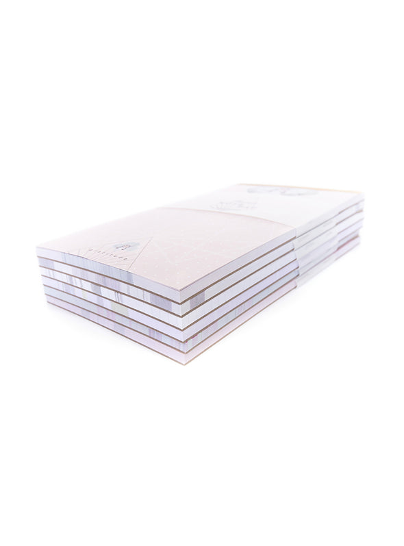 stack of notepads