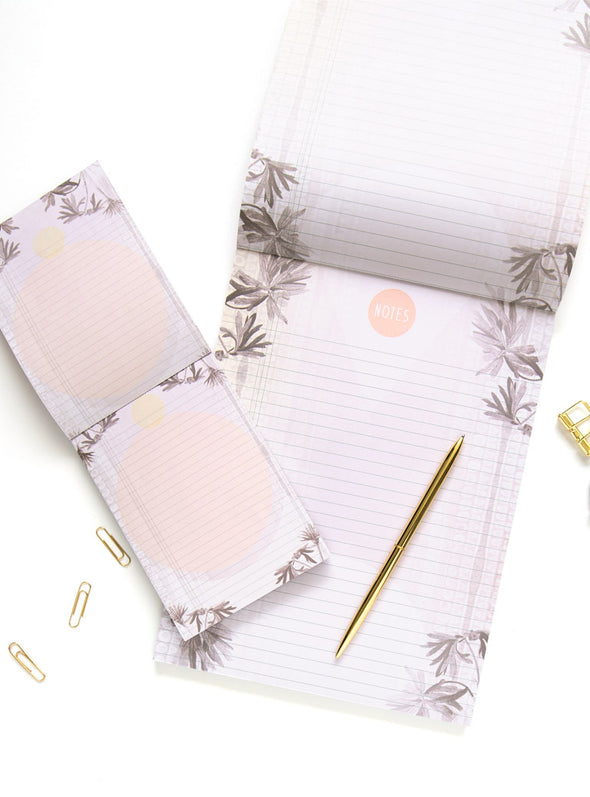 tropical stationery with pen
