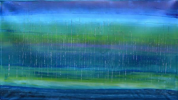 Rosella Namok, 'Monsoon Stinging Rain'