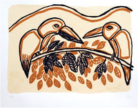 Nancy Cowan 'Kingfishers talking to each other'
