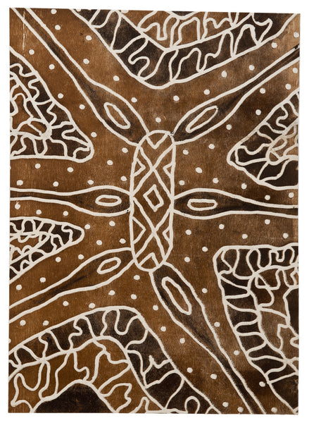 Napolean Oui 'Rainforest Shield Design Wabarr gabay-barra/Hunting for termites (white ants) I'