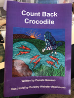 Count Back Crocodile by Pam Galeano