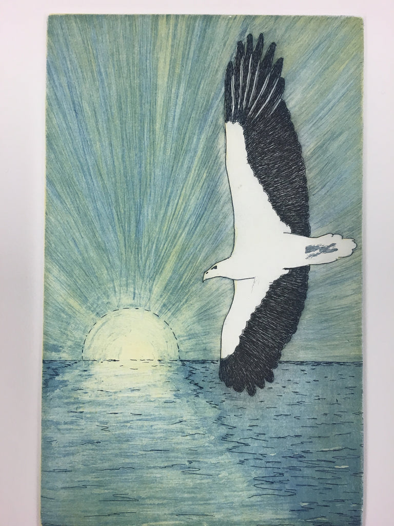 Darren Blackman 'Gangga (the white bellied sea eagle)
