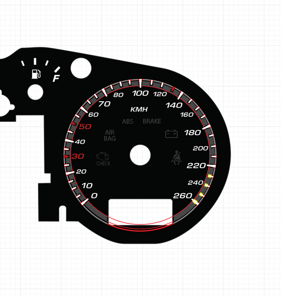 Metric Audi TT Illuminated Gauge Faces Available!