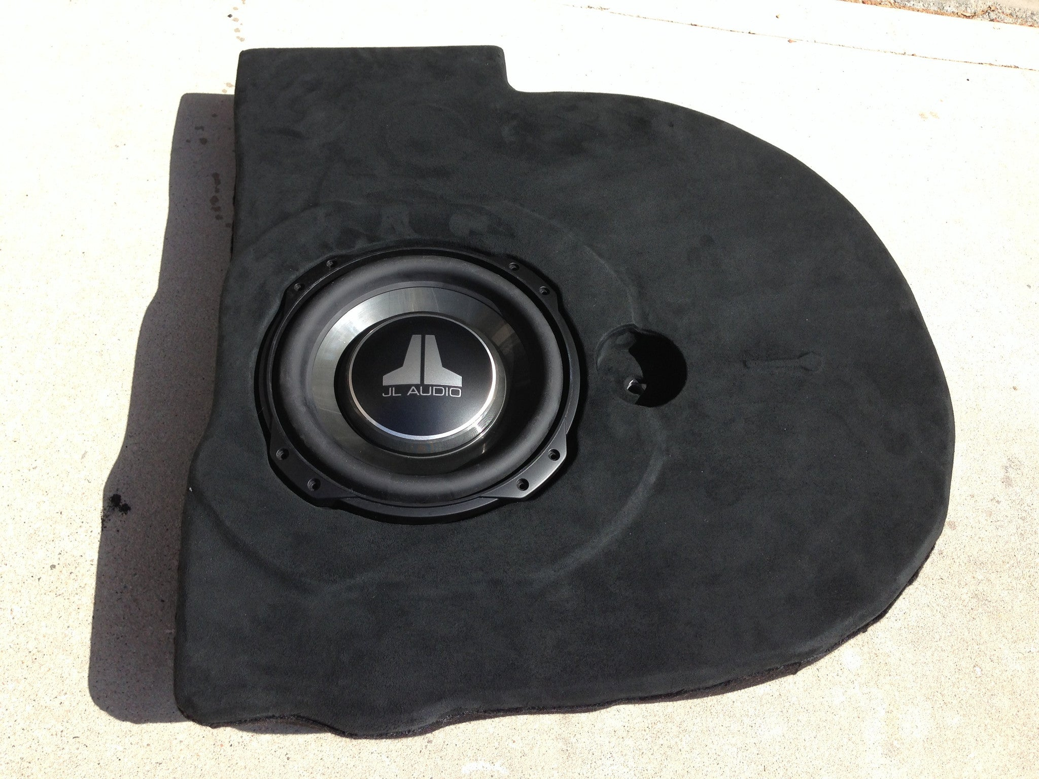 Corrado Sub Enclosure Spare Tire Well VR6