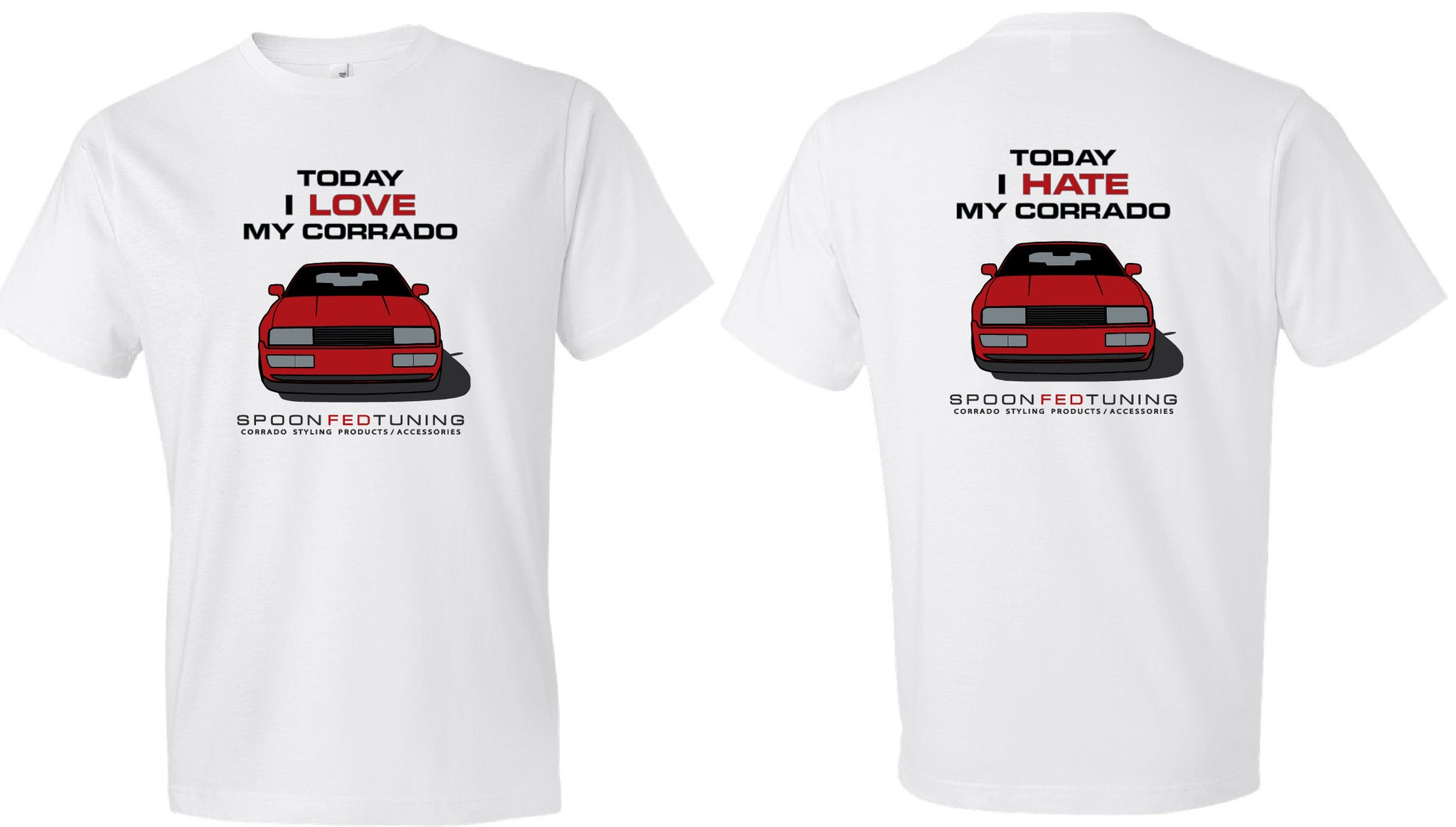 SpoonFedTuning Corrado Love/Hate T-Shirt