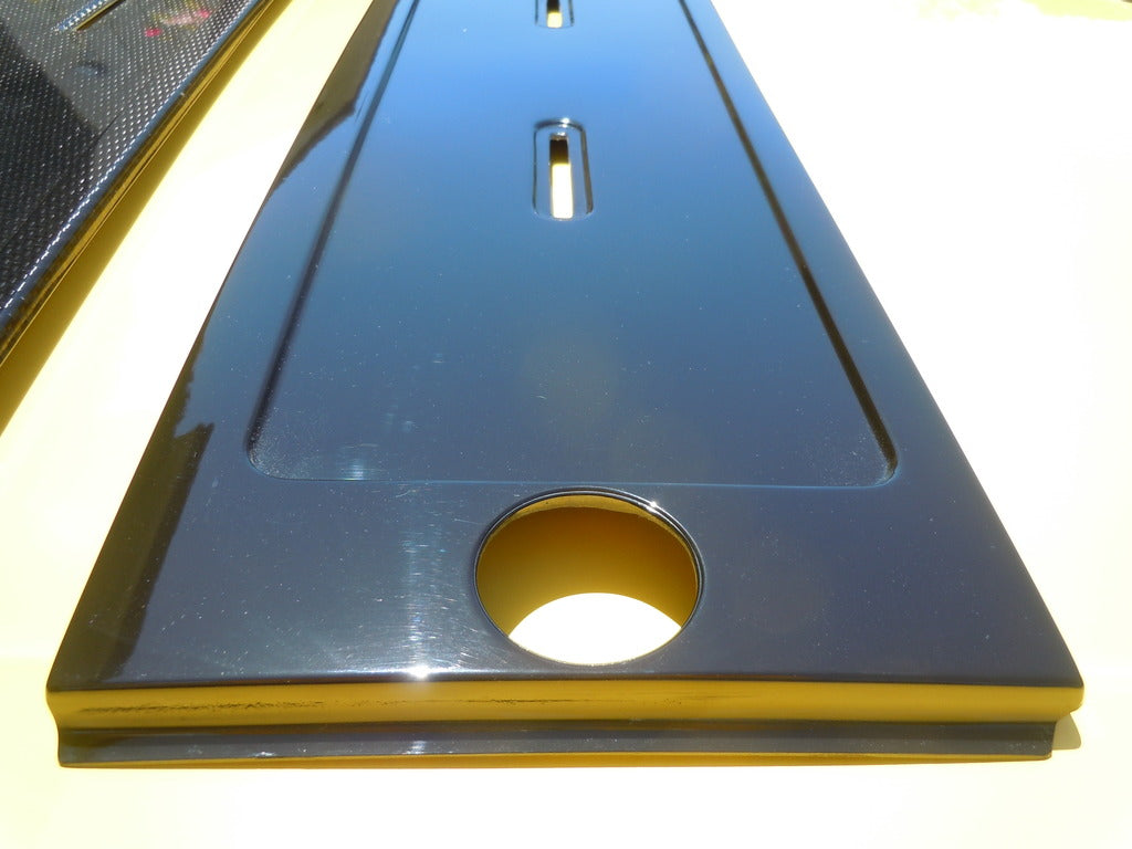 Corrado Euro Plate Holder Gloss Black