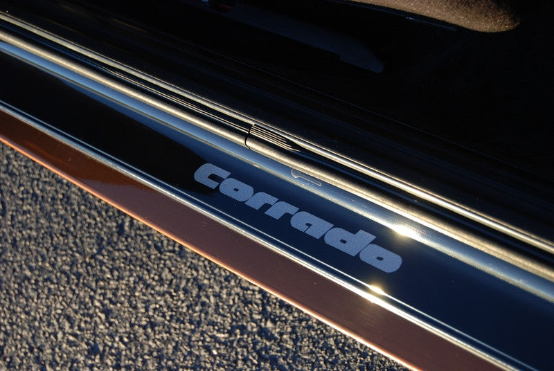 Corrado Door Sills Gloss Black