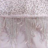 Express Beaded Design 100% Silk Scarf Long Vintage ScarvesiLove 004s13
