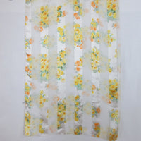 Beautiful Floral Design 100% Silk Scarf Vintage Long ScarvesiLove 004s47