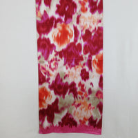Anne Klein Floral Abstract Design Scarf Vintage Long ScarvesiLove 001s58