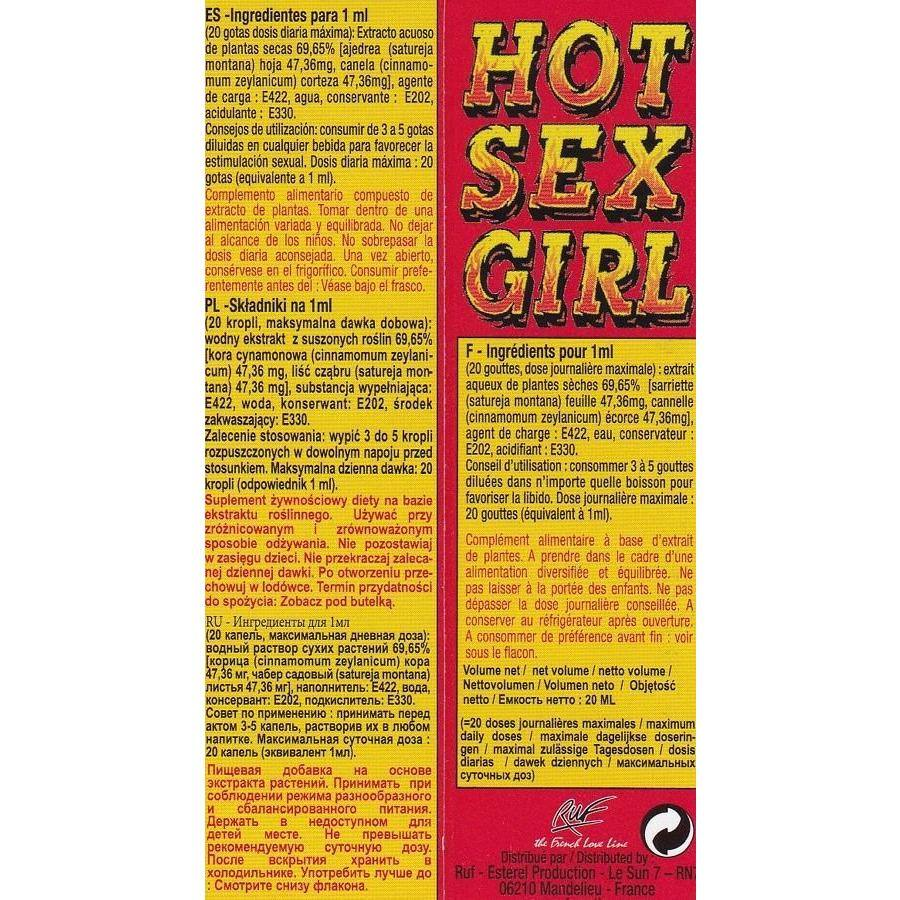 Hot Sex Girl - 20 ml