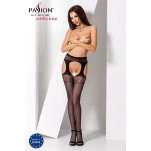 Collant Noir Sexy S005 -