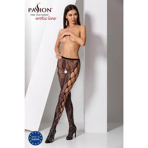 Collant Noir Sexy S008 -