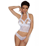 Perla Top & String - Blanc