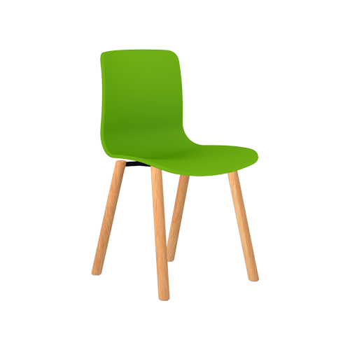 Acti Plastic Chair Range Timber