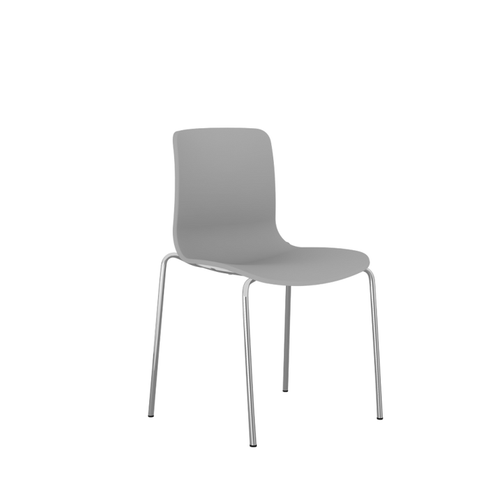Acti Plastic Chair Range Leg Chrome