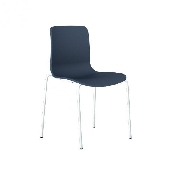 Acti Plastic Chair Range Leg White