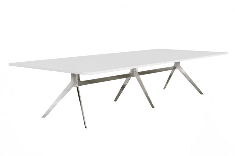 Delta Boardroom Table White