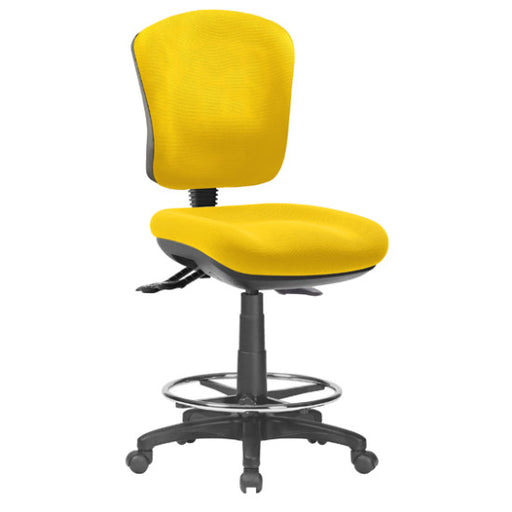 Ecotech Drafting Chair Yellow