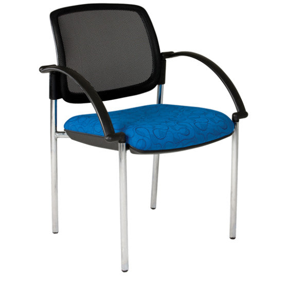 Maxi Visitor Chair Chrome