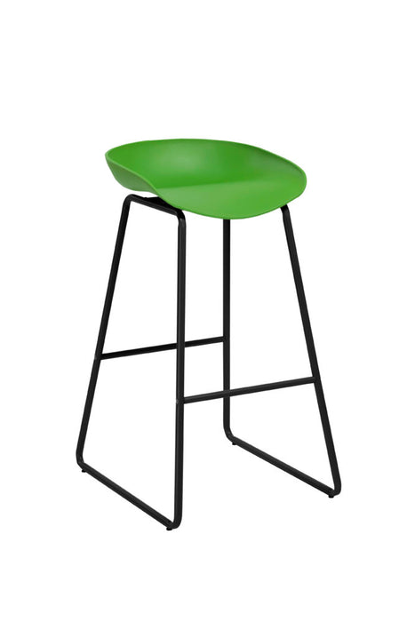 Green Bar Stool