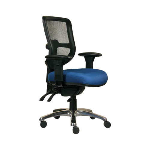Swift Ergo Task Chair blue