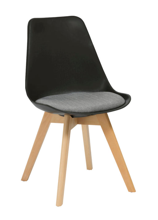 Virgo Visitor Chair Black
