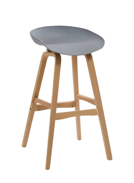 Virgo Bar Stool grey