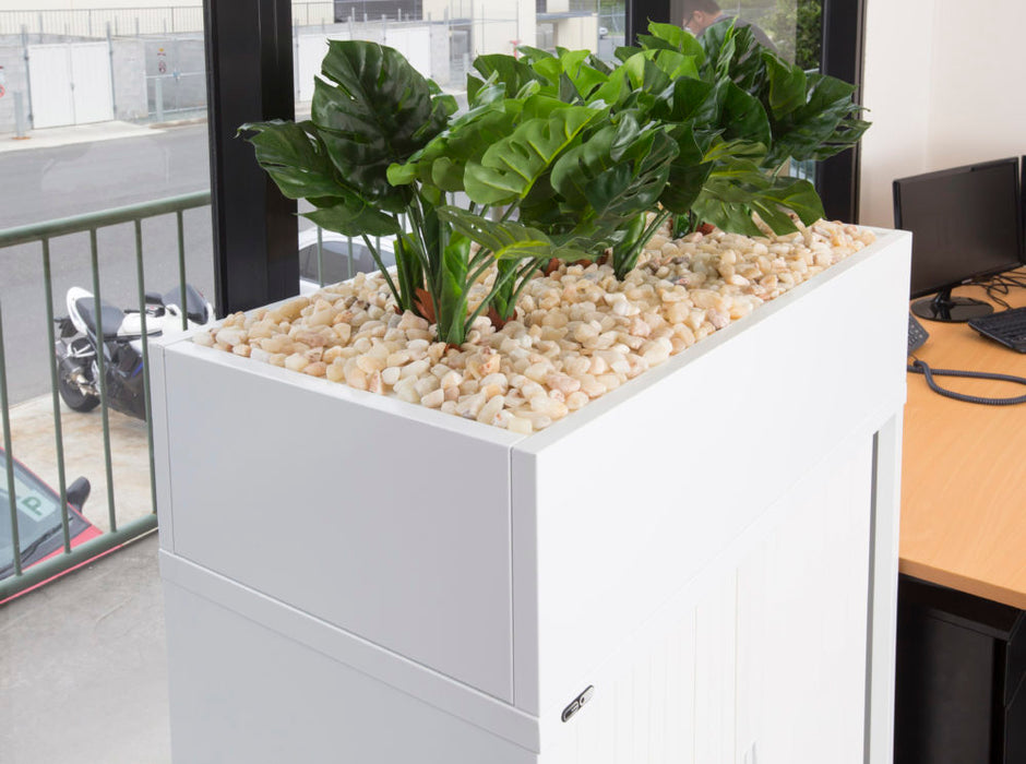 Tambour Door Planter Boxes