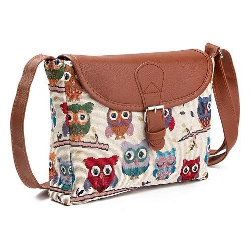Emma Owl Shoulder Bag - Emanzio designer