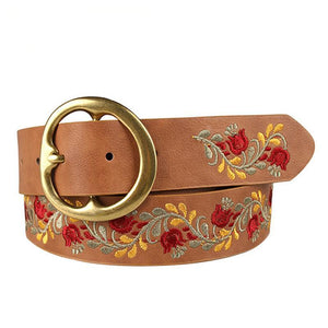 Flower Mix Designer Belt - Emanzio designer
