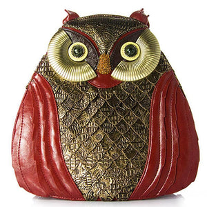 Veronica Owl Backpack - Emanzio designer
