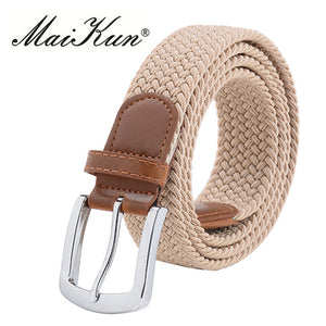 High Quality New Stretch Canvas Belts for Women Elastic Brand Women Belt Military Tactical Belt Luxury Pin Buckle Belt 10 - Emanzio designer