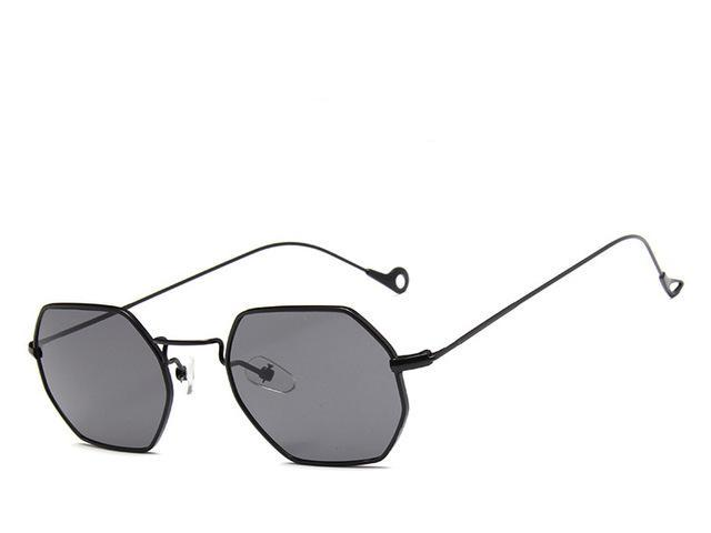 Black Gray Polygon  Sunglasses - Emanzio designer
