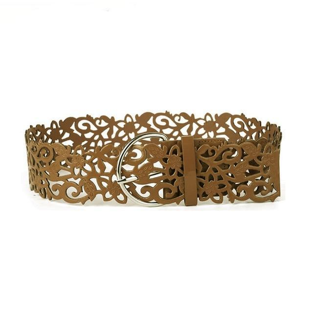Hollow Light Designer Belt - Emanzio designer