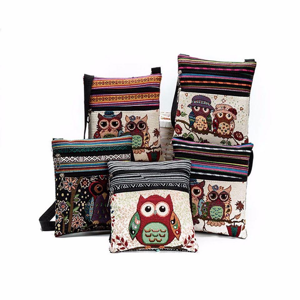 Giulia Owl Shoulder Bag - Emanzio designer