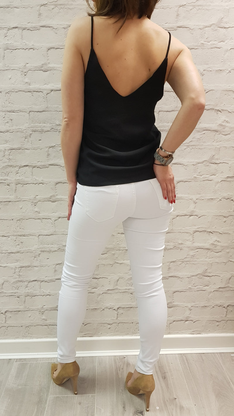 Riley White Skinny Jeans