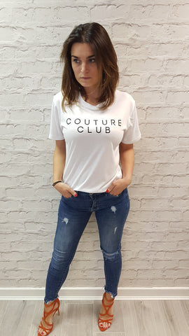 Slogan Tee Holy Chic