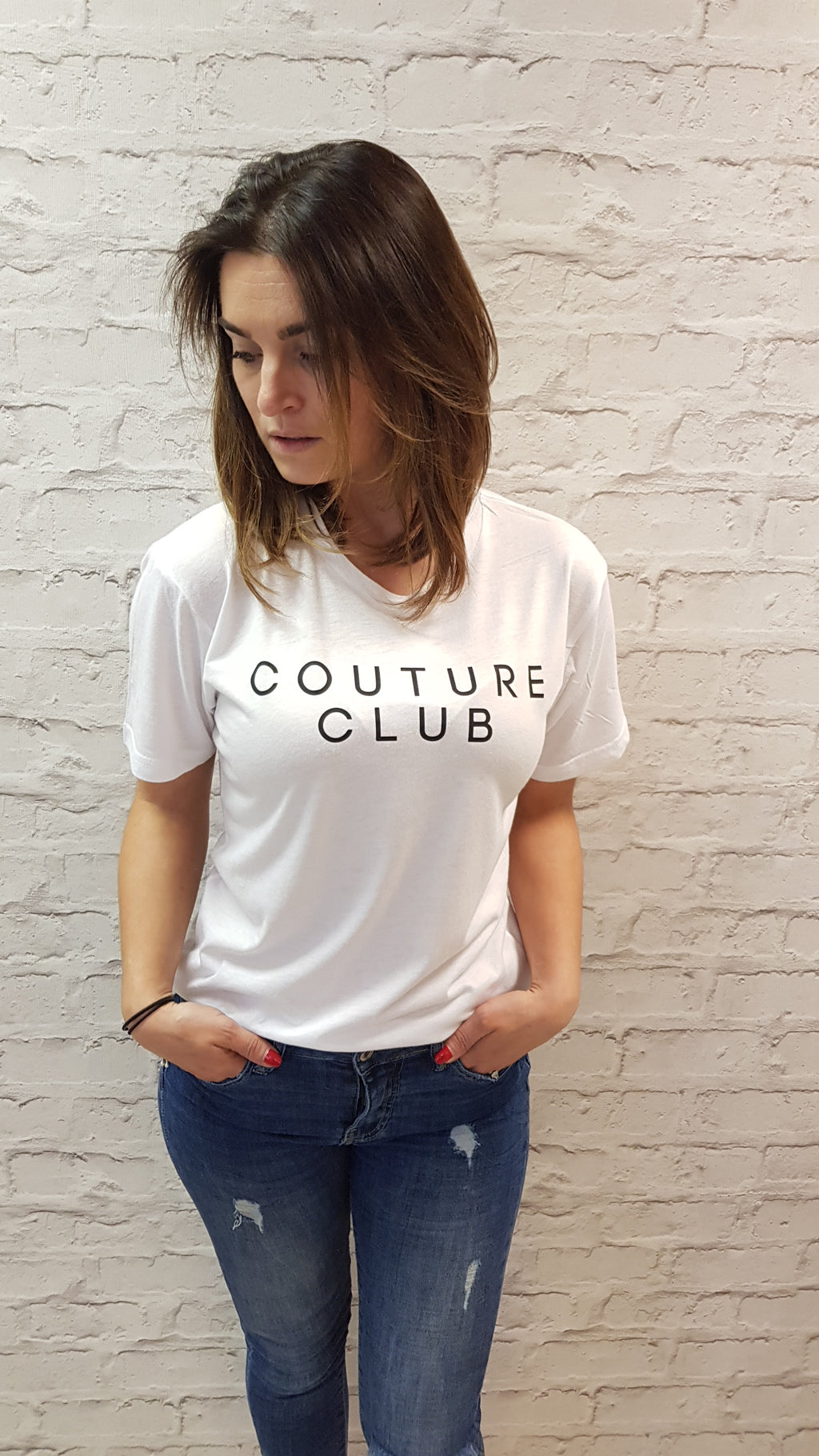 Slogan Tee Couture Club