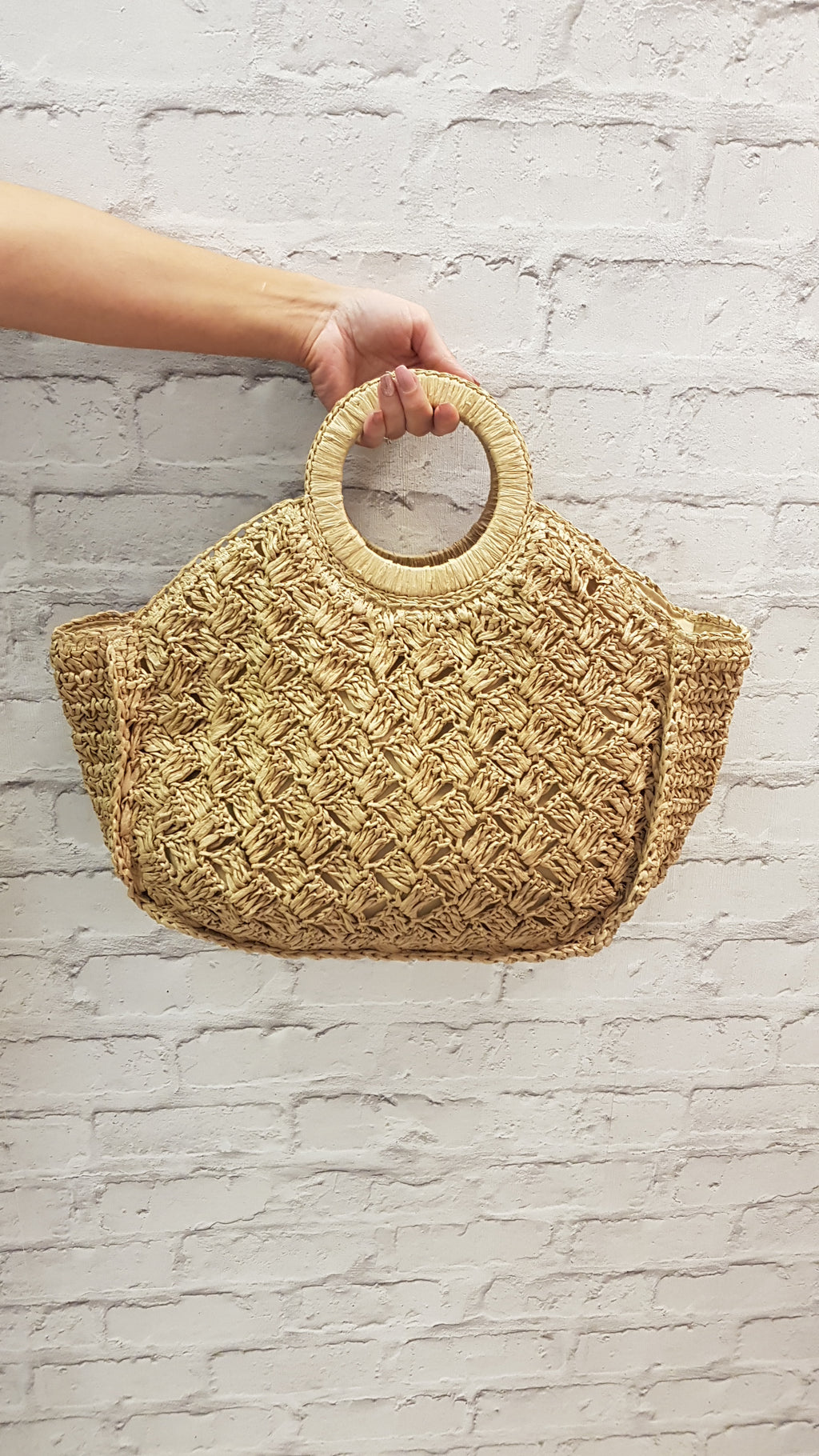 Kat Seagrass Beach Bag