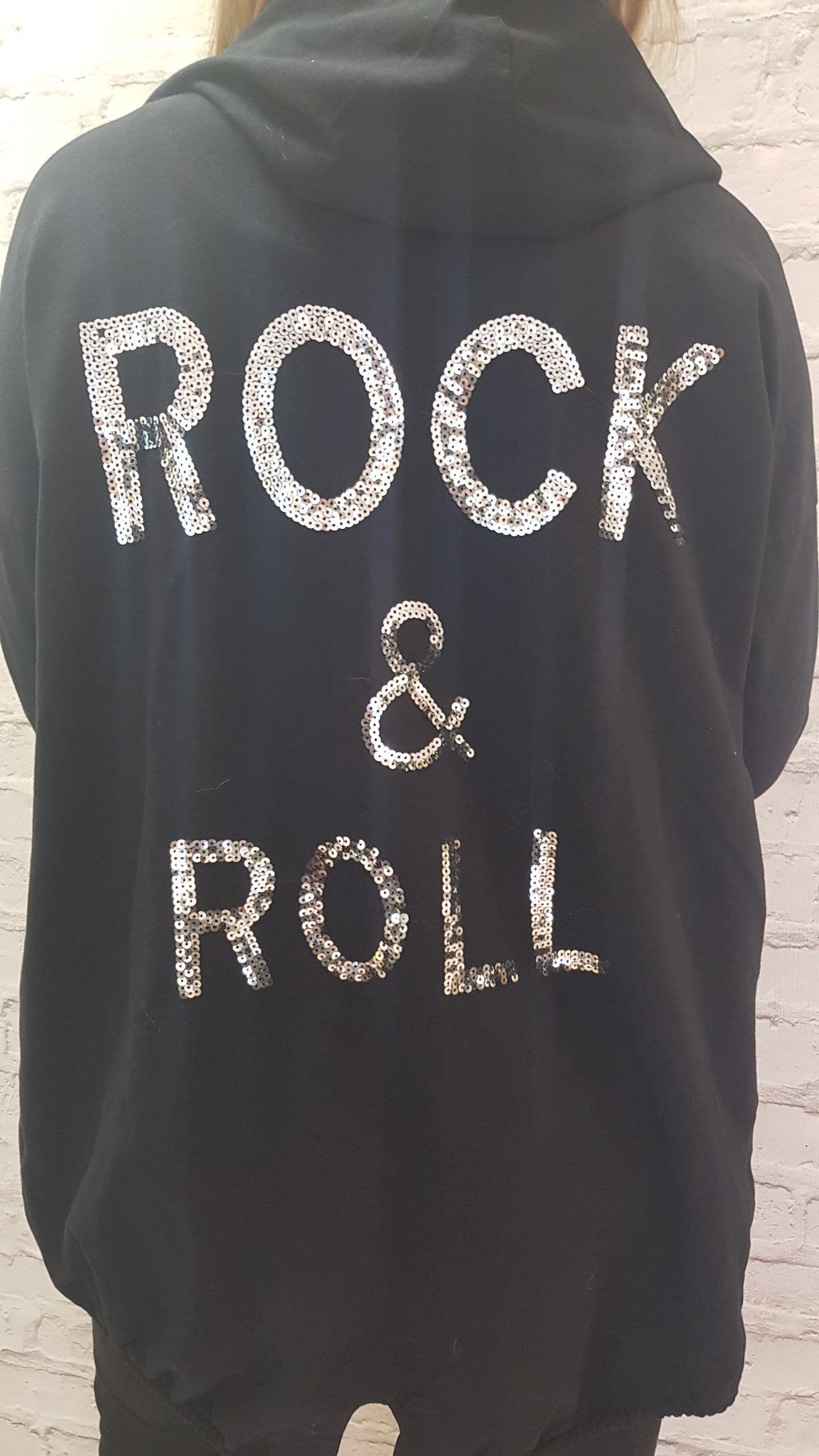 Olivia Rock & Roll Lightweight Sequin Jacket
