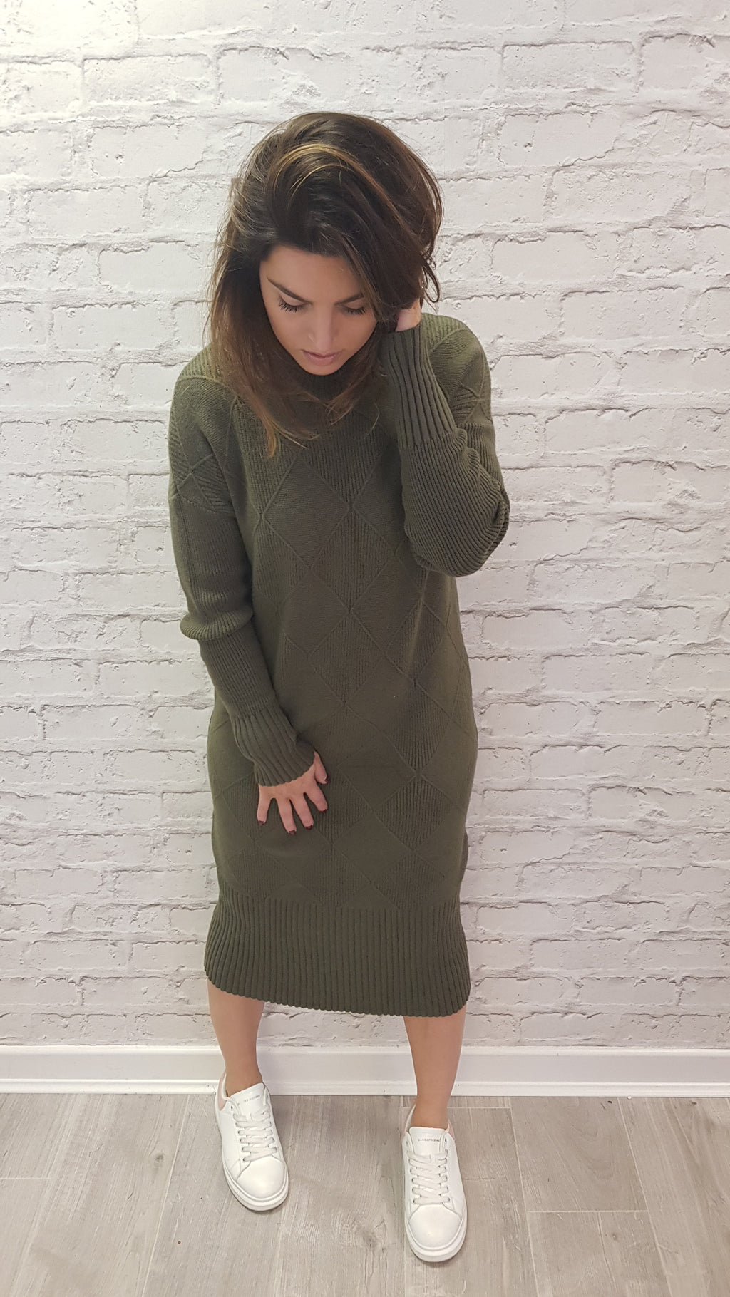 Neve Long Jumper Dress