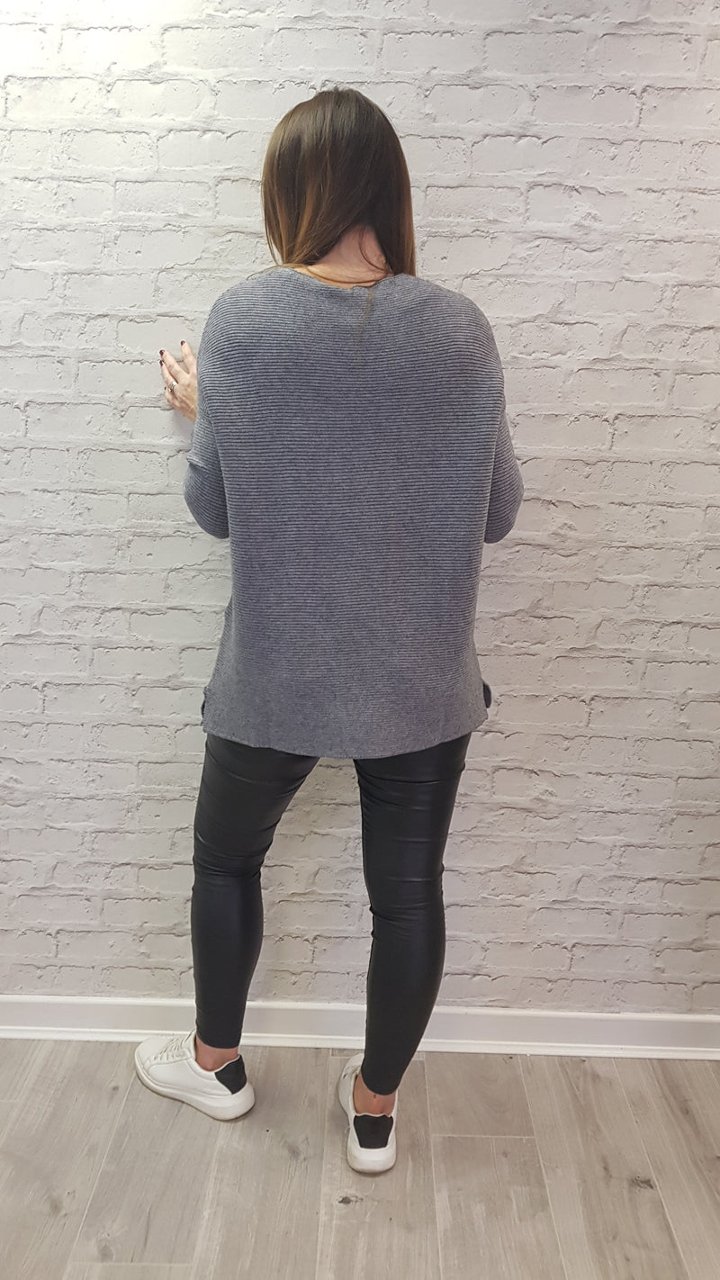 Reece Grey Jumper