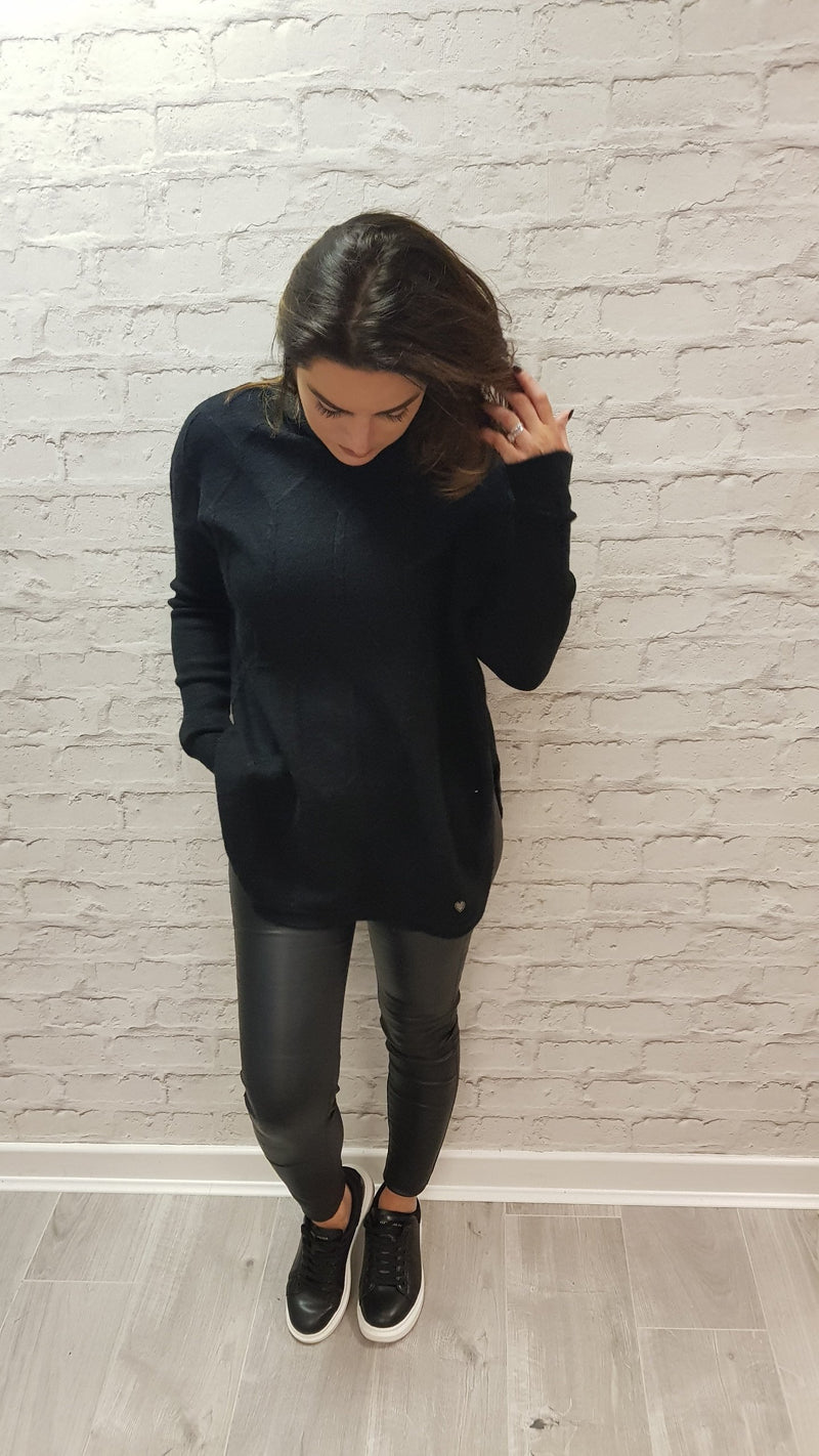 Lyla Roll Neck Jumper